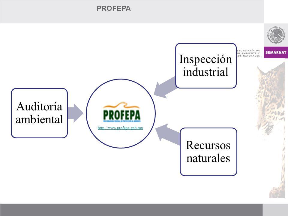http://www.profepa.gob.mx Auditoría ambiental Inspección industrial Recursos naturales PROFEPA