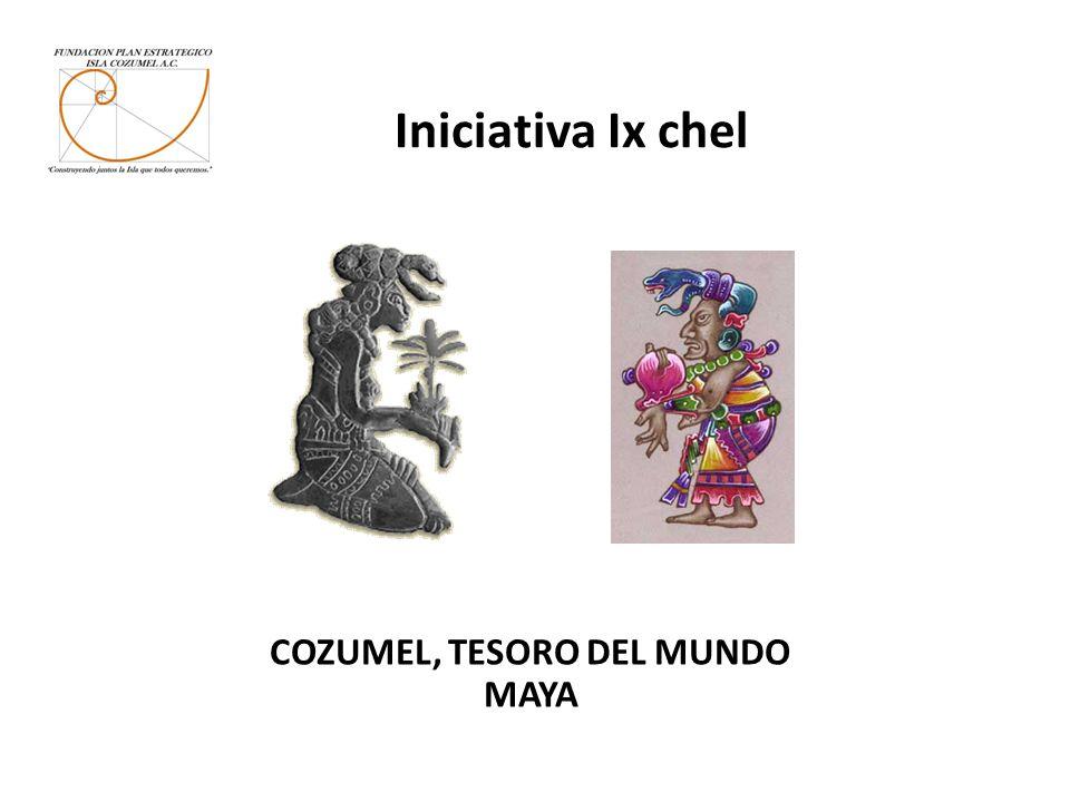 Iniciativa Ix chel COZUMEL, TESORO DEL MUNDO MAYA