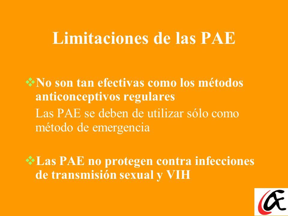 Tratamiento de preferencia: Dosis Única de levonorgestrel (Producto Dedicado de PAE Una dosis única de levonorgestrel parece funcionar ligeramente mej
