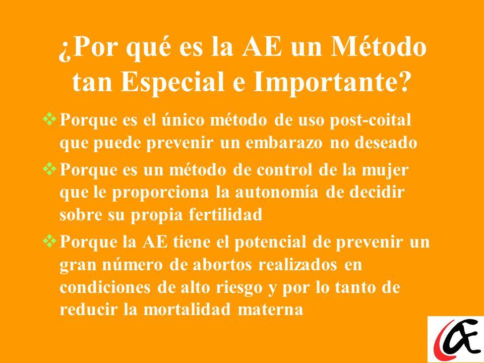 ¿Por qué es la AE un Método tan Especial e Importante.
