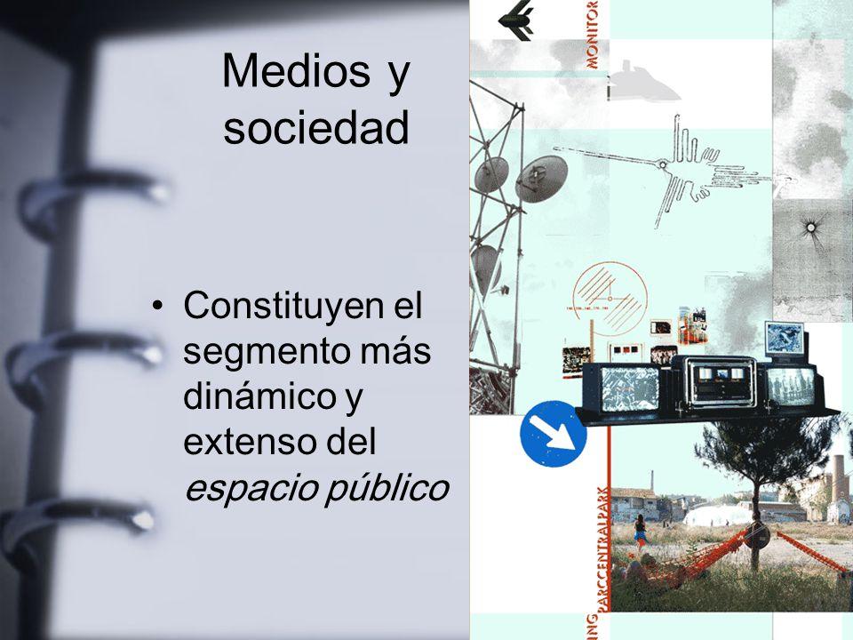 El ámbito de lo público En México ha sido muy acotado por el Estado Partido único de pretensiones omniabarcantes Los protagonistas del espacio público