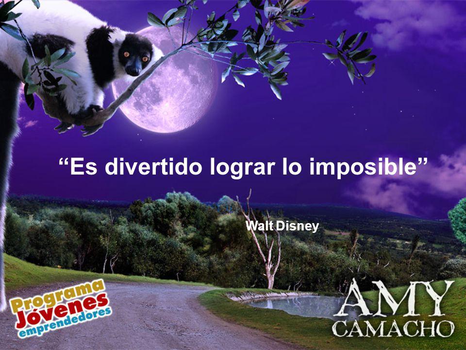 Es divertido lograr lo imposible Walt Disney