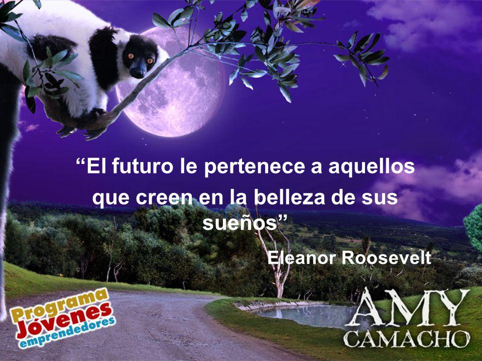 El futuro le pertenece a aquellos que creen en la belleza de sus sueños Eleanor Roosevelt