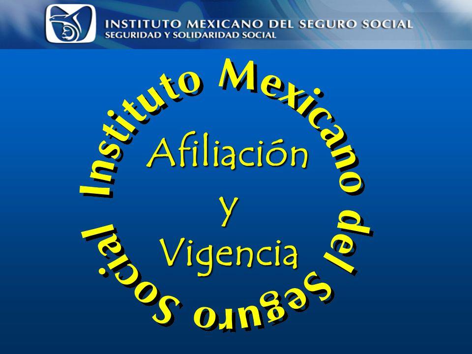 Afiliación y Vigencia