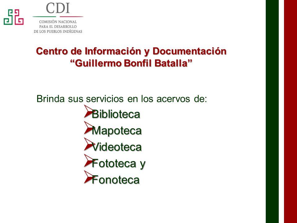 Morelos 2013 Comisión Nacional para el Desarrollo de los Pueblos Indígenas Dirección: Calle Libertad No.