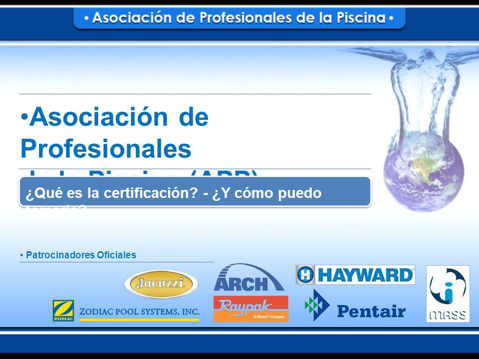 Asociación de Profesionales de la Piscina (APP) ¿Qué es la certificación.