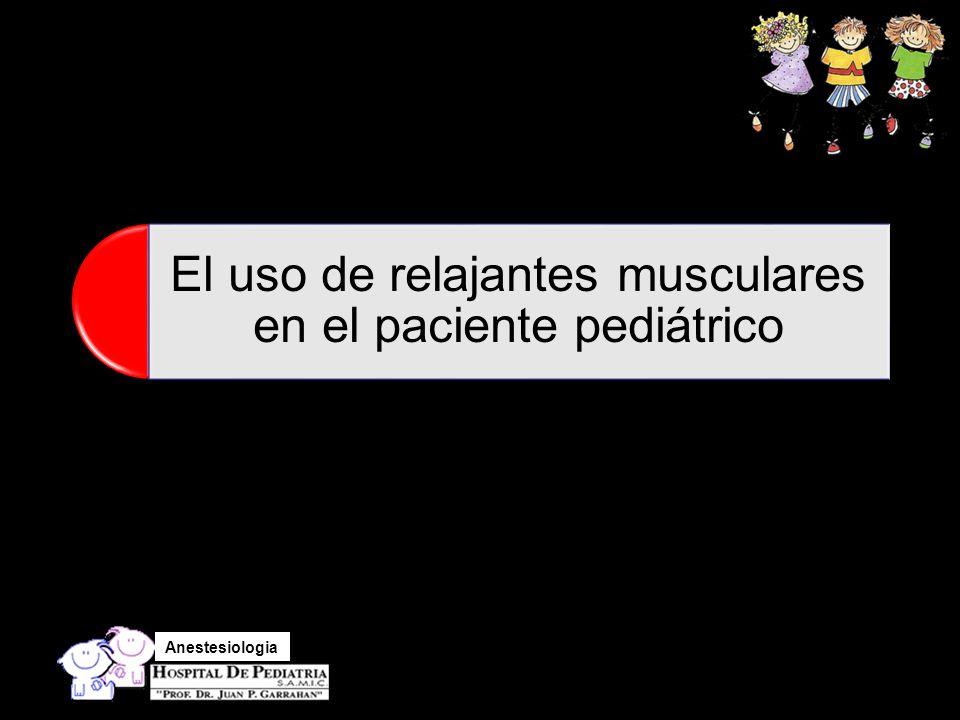 Anestesiologia ¿¿ Descurarizar o no ?????