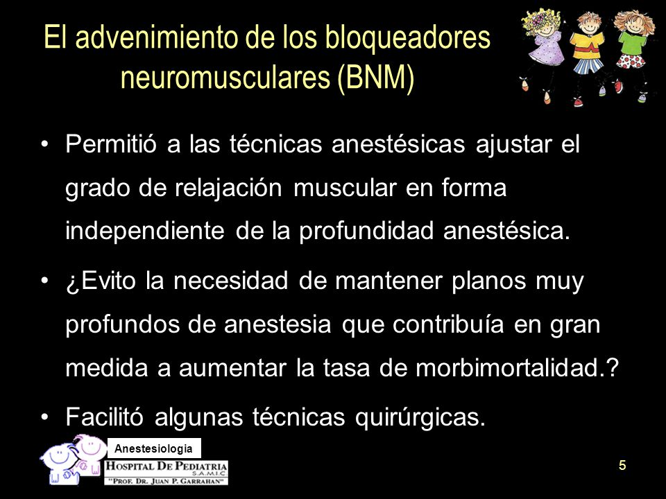 Anestesiologia ¿¿ Descurarizar o no ????.¿Neostigmina, sugammadex.