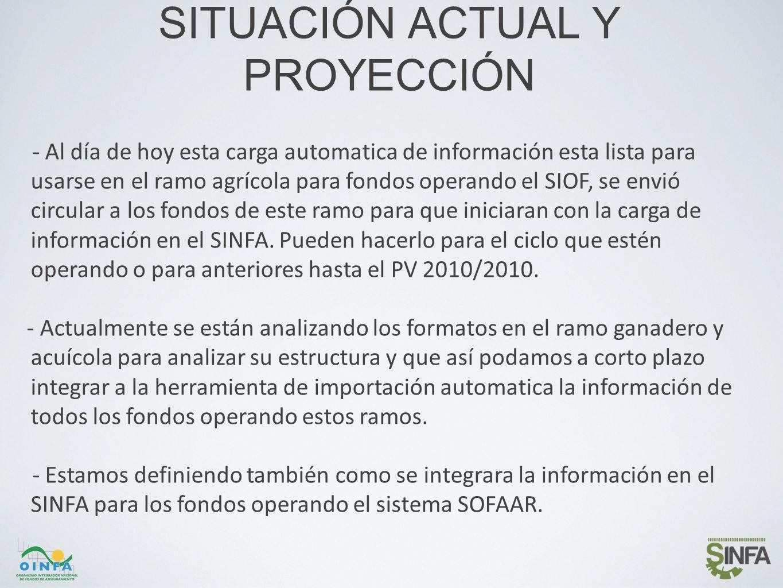 DEMOSTRACIÓN AVANCE SINFA para Fondos de Aseguramiento -Demostración general del SINFA para Fondos.