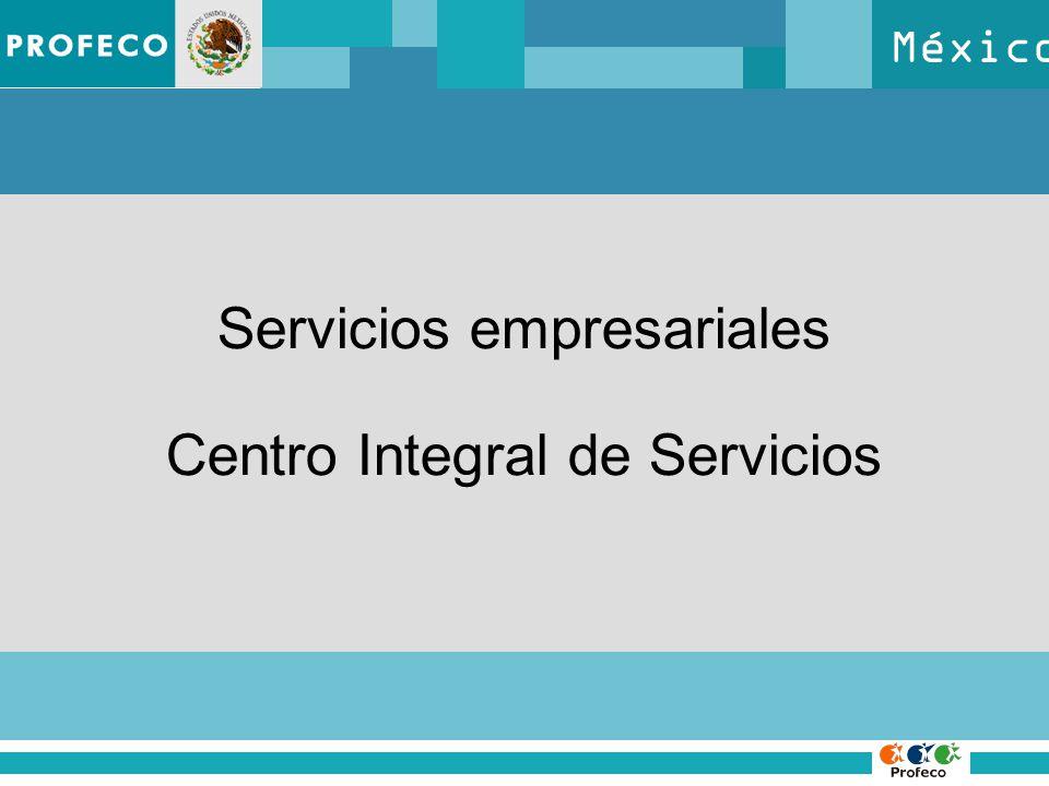 México Servicios empresariales Centro Integral de Servicios