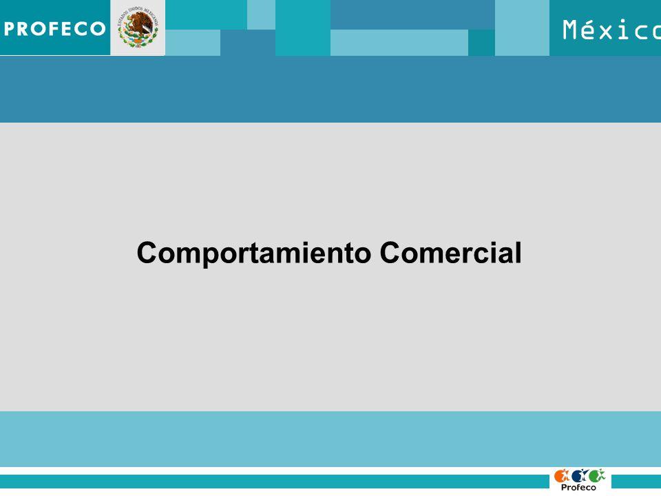 México Comportamiento Comercial