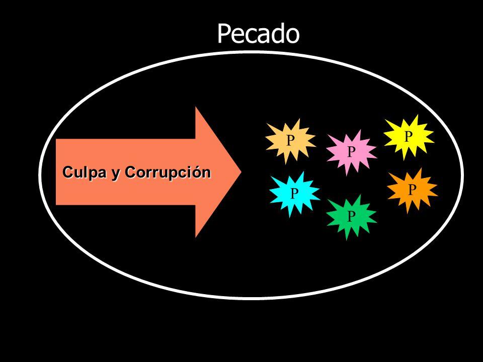 Culpa y Corrupción P P P P P P Pecado