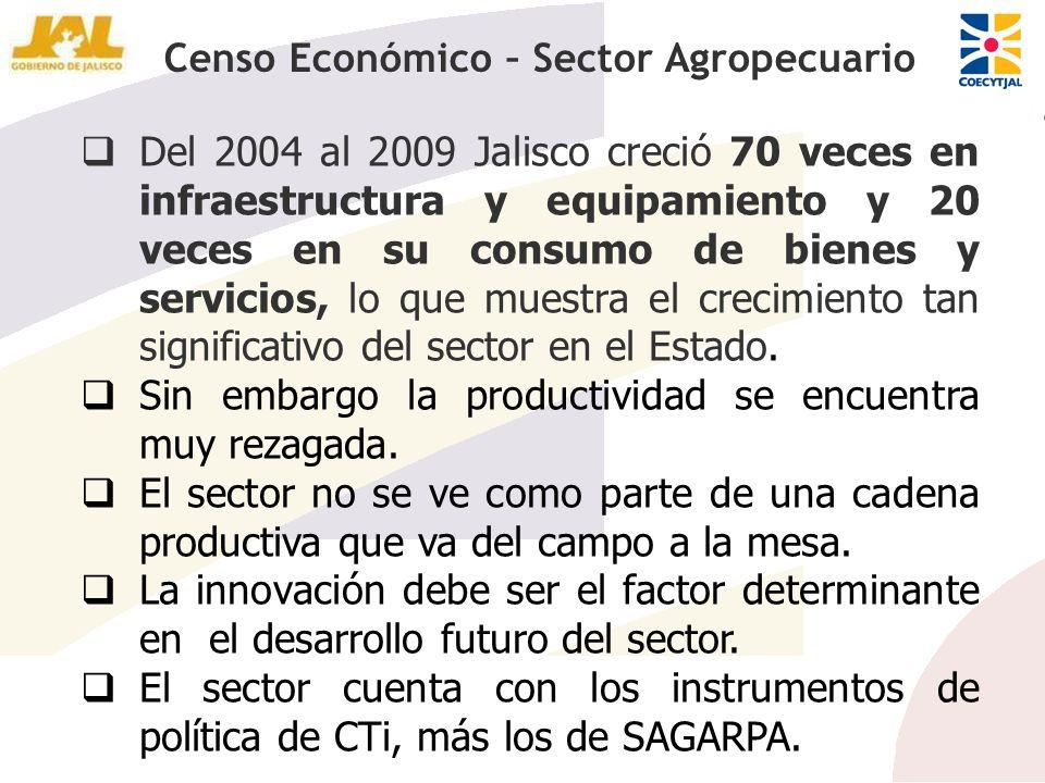 Del 2004 al 2009 Jalisco creció 70 veces en infraestructura y equipamiento y 20 veces en su consumo de bienes y servicios, lo que muestra el crecimien