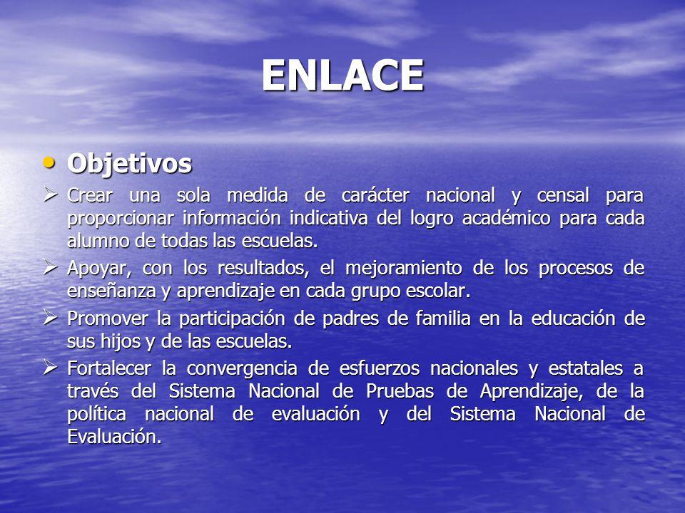 ENLACE Características técnicas de las pruebas Características técnicas de las pruebas Extensión o Longitud.