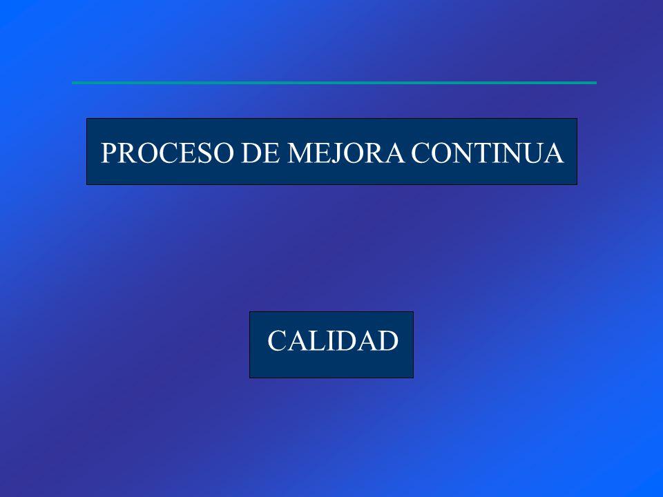 CALIDAD PROCESO DE MEJORA CONTINUA