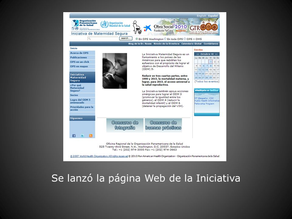 Se lanzó la página Web de la Iniciativa