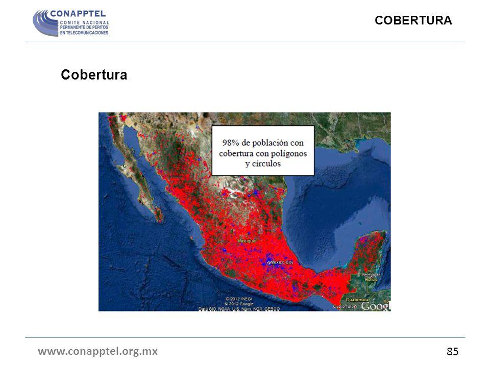 www.conapptel.org.mx 85 COBERTURA Cobertura