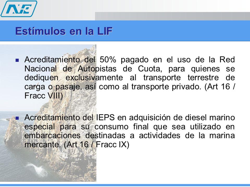 Acreditamiento del 50% pagado en el uso de la Red Nacional de Autopistas de Cuota, para quienes se dediquen exclusivamente al transporte terrestre de