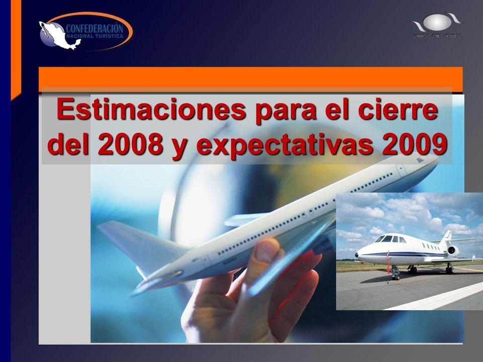 Estimaciones para el cierre del 2008 y expectativas 2009