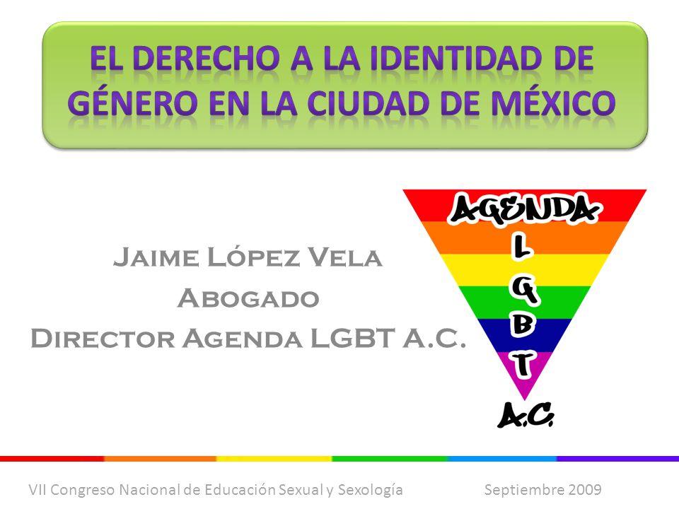 Jaime López Vela Abogado Director Agenda LGBT A.C.