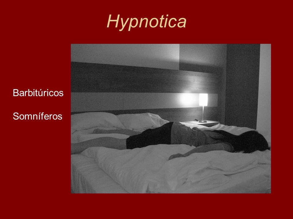 Hypnotica Barbitúricos Somníferos