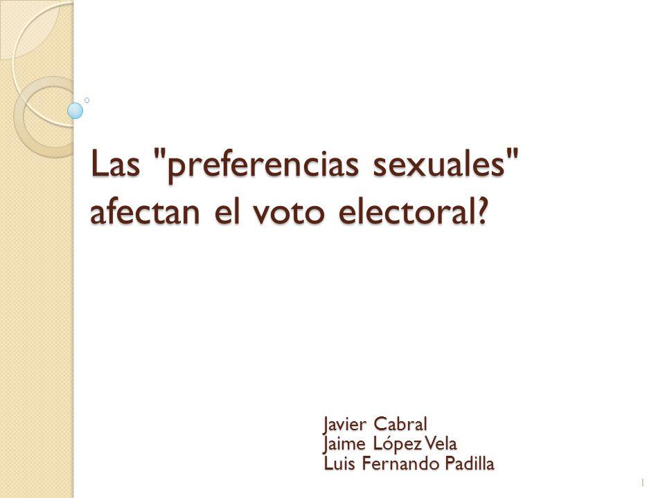 Partidos y diferencias ideológicas.
