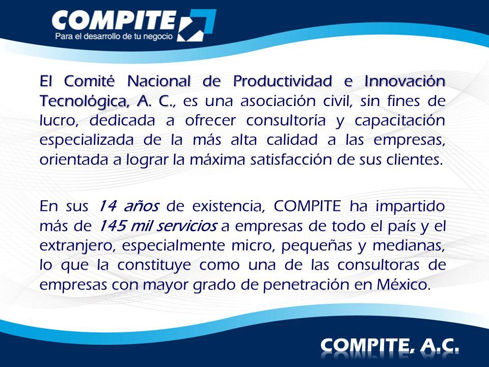 El Comité Nacional de Productividad e Innovación Tecnológica, A. C. El Comité Nacional de Productividad e Innovación Tecnológica, A. C., es una asocia
