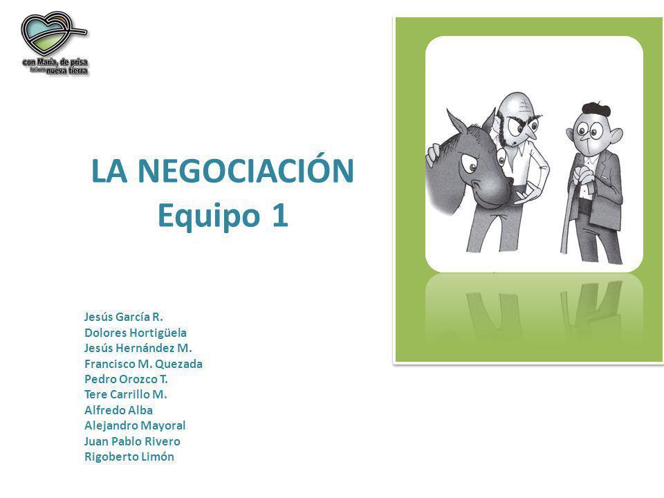 LA NEGOCIACIÓN (instrumento) 1.PREPARACIÓN a)Establecer objetivos, metas ¿con quién.