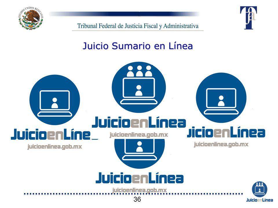 Juicio Sumario en Línea 36