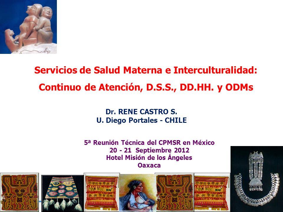 Servicios de Salud Materna e Interculturalidad: Continuo de Atención, D.S.S., DD.HH.