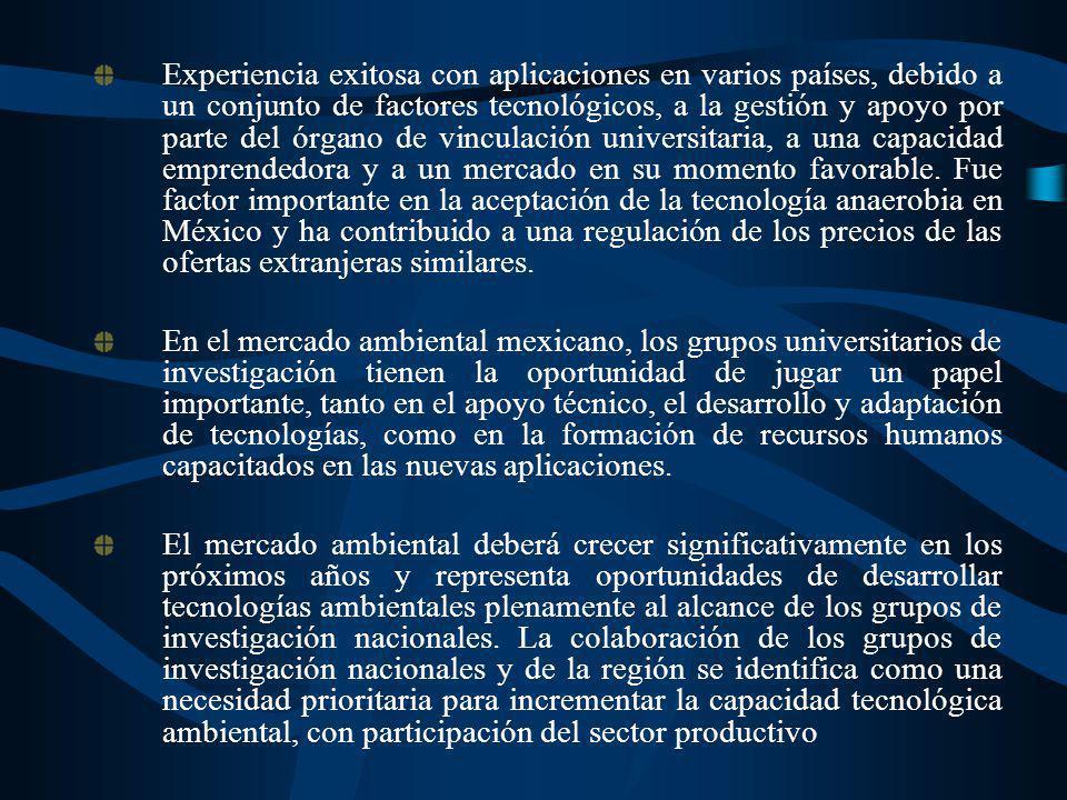 Experiencia exitosa con aplicaciones en varios países, debido a un conjunto de factores tecnológicos, a la gestión y apoyo por parte del órgano de vin