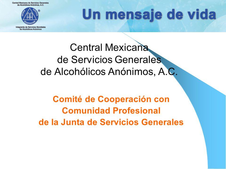 Central Mexicana de Servicios Generales de Alcohólicos Anónimos, A.C.