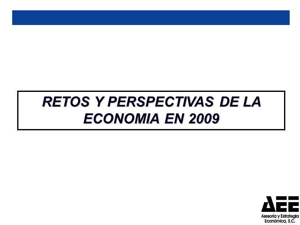 RETOS Y PERSPECTIVAS DE LA ECONOMIA EN 2009