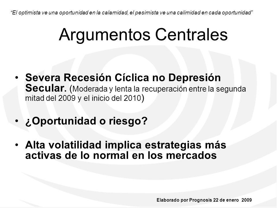 Elaborado por Prognosis 22 de enero 2009 ¡GRACIAS!