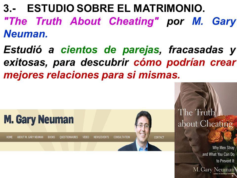 3.-ESTUDIO SOBRE EL MATRIMONIO.