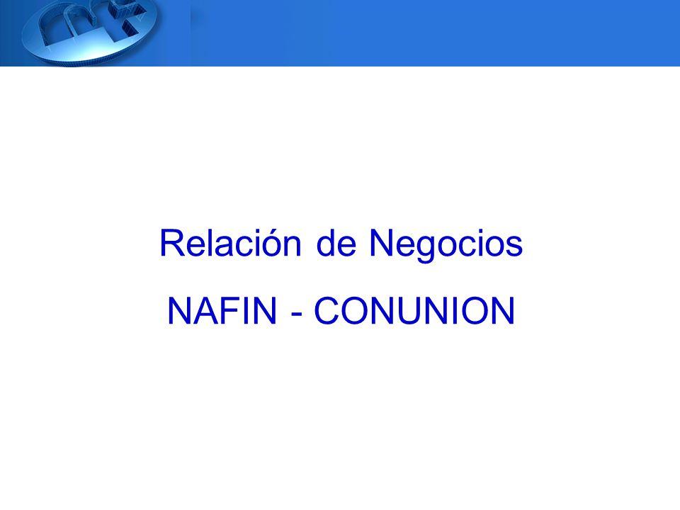 Relación de Negocios NAFIN - CONUNION