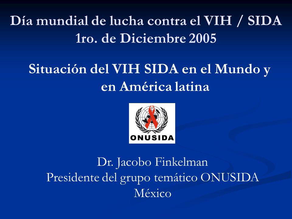 Día mundial de lucha contra el VIH / SIDA 1ro.