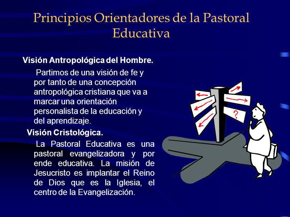 La Realidad de la Pastoral Educativa. En repetidas ocasiones la Pastoral educativa es más sacramentalista y ritualista, lo que no lleva a un compromis