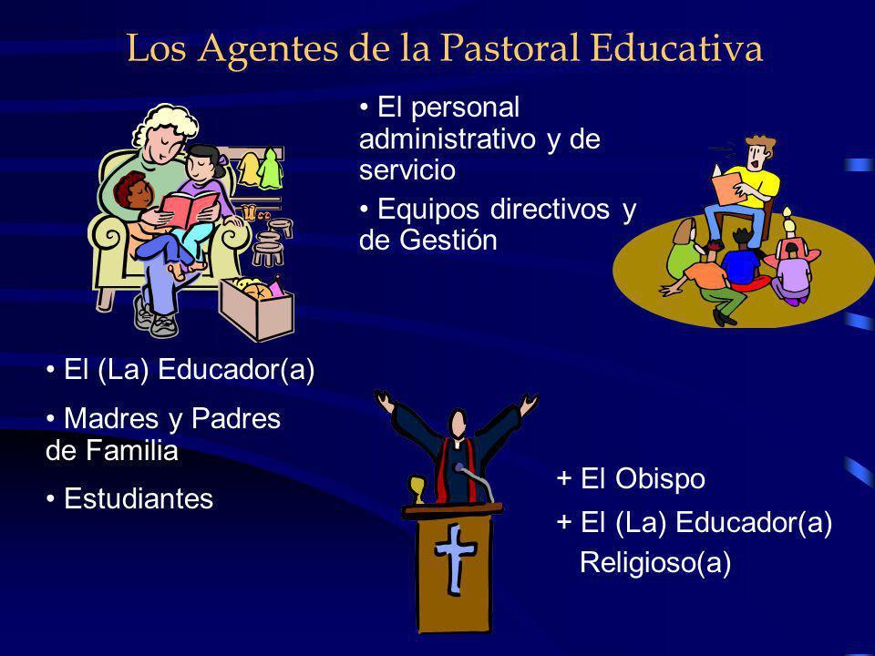 Principios Orientadores de la Pastoral Educativa VISIÓN ECLESIOLÓGICA. En la dinámica del seguimiento de Jesús la la escuela debe hacer presente el va