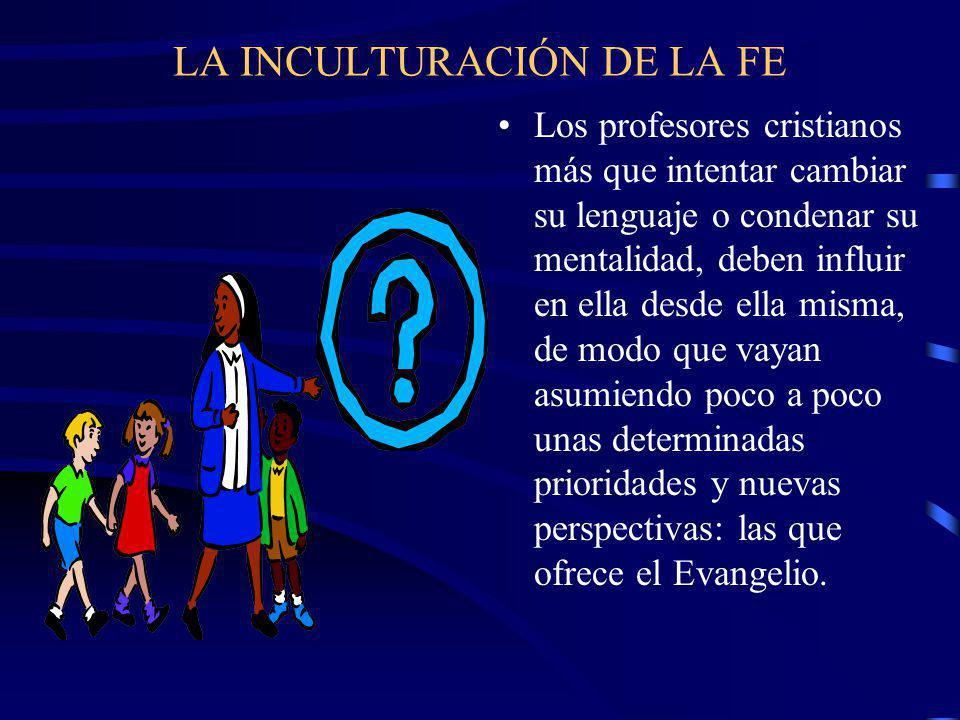 Una escuela tradicional Una escuela con Pastoral Una escuela en Pastoral Se considera el defecto principal del alumno la indisciplina y el incumplimiento.