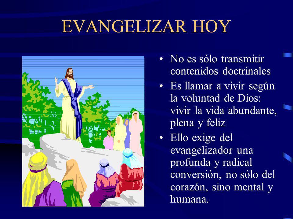 EVANGELIZAR ES.. Hacer presente a una persona viva que tiene adaptación a toda cultura Toda persona puede acoger a Jesús de Nazareth porque él ofrece
