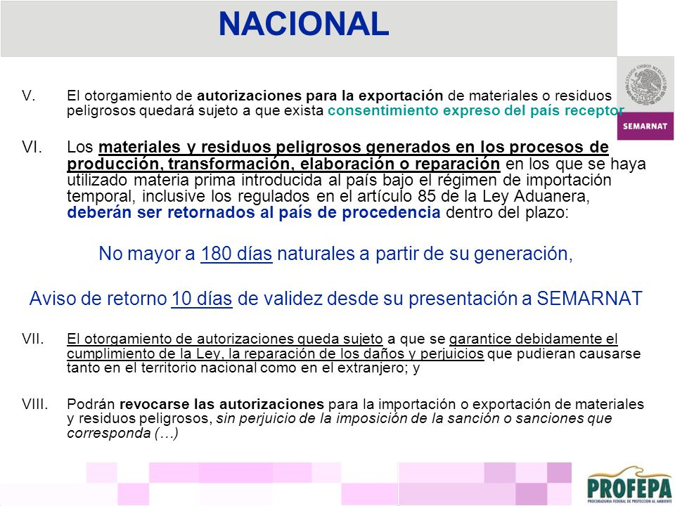 Ley General para la Prevención y Gestión Integral de los Residuos Última reforma publicada el 19 de junio de 2007, DOF.