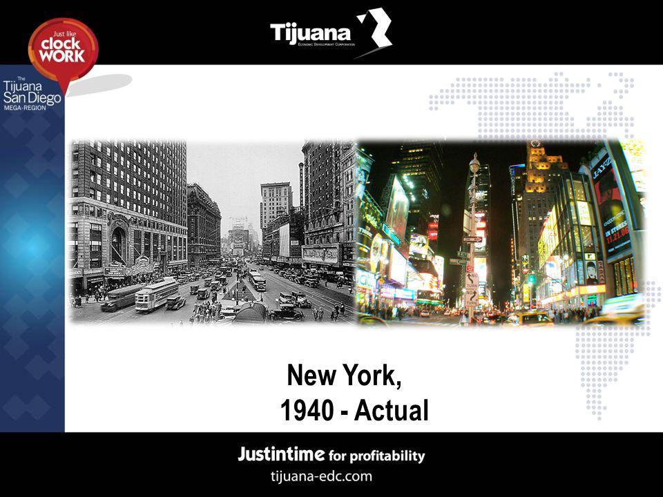 New York, 1940 - Actual