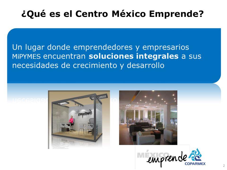 ¿Qué es el Centro México Emprende? 2