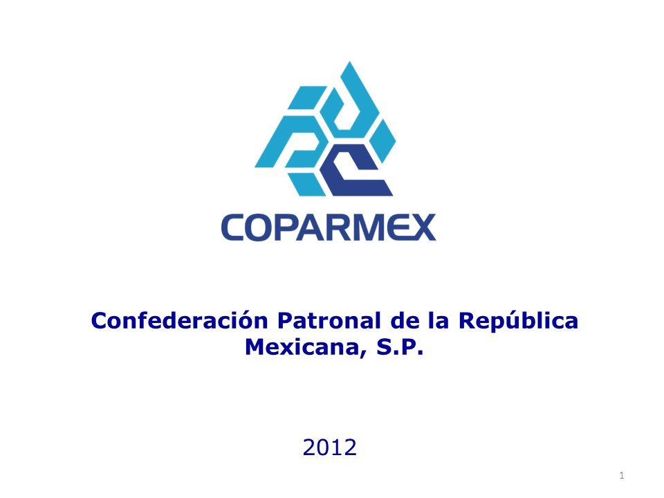 Confederación Patronal de la República Mexicana, S.P. 2012 1