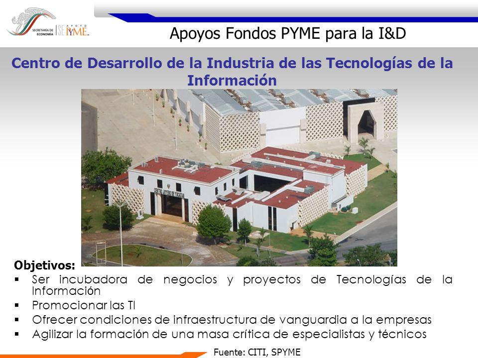 Objetivos: Ser incubadora de negocios y proyectos de Tecnolog í as de la Informaci ó n Promocionar las TI Ofrecer condiciones de infraestructura de va