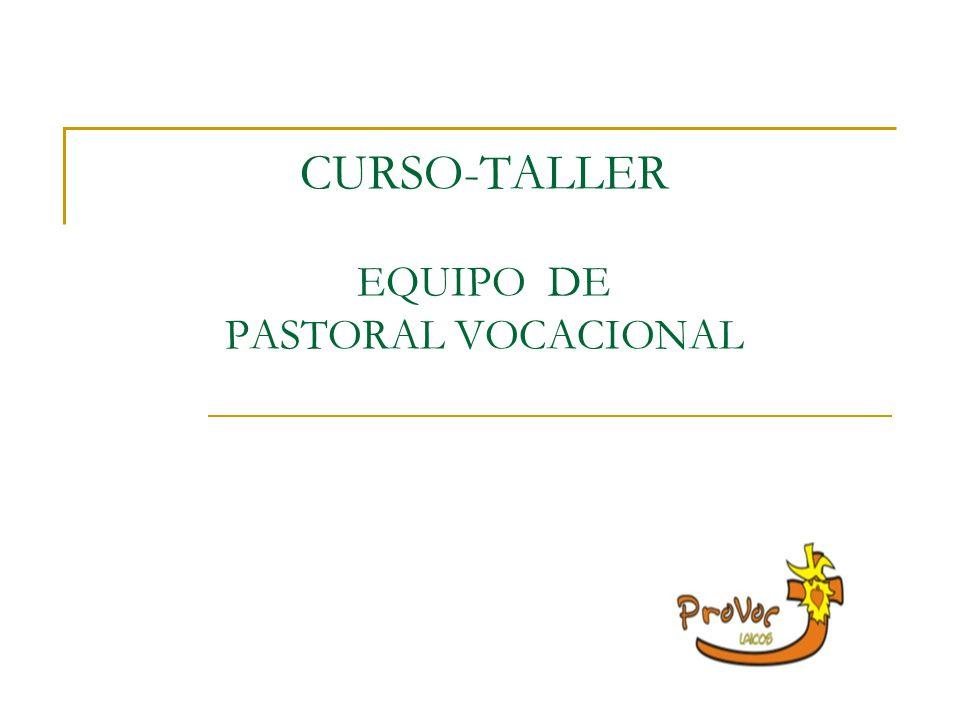 Implementación del Ministerio de Pastoral Vocacional 4.