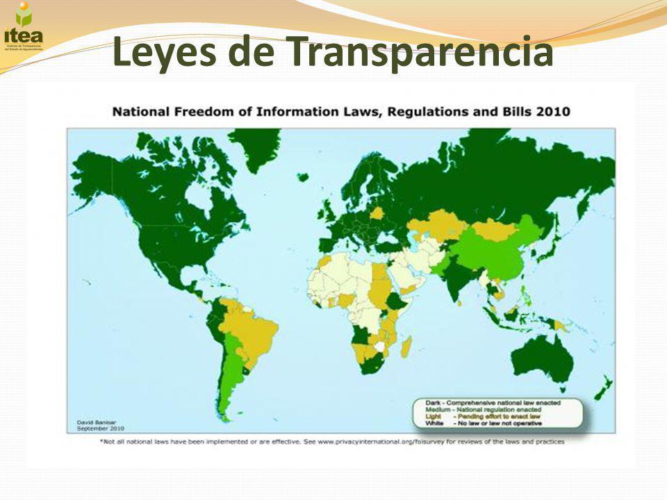 Transparencia en México La transparencia en México.