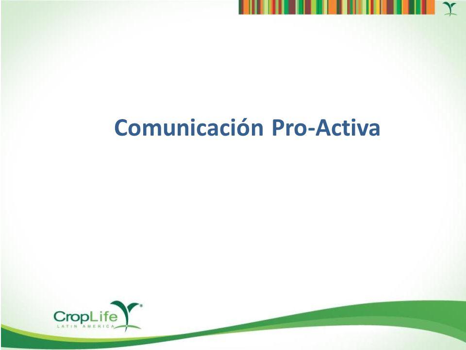 Eventos Comunicación proactiva de los beneficios de la Industria 350 asistentes 56 autoridades Mas de 60 registros de prensa Informar y Educar al Agricultor México 2013: