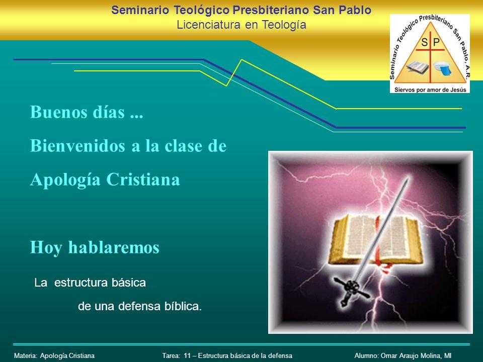 Patente de Aspdin Seminario Teológico Presbiteriano San Pablo Licenciatura en Teología Materia: Apología CristianaAlumno: Omar Araujo Molina, MI Bueno